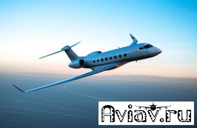 Бизнес-джет Gulfstream G650ER сертифицирован FAA