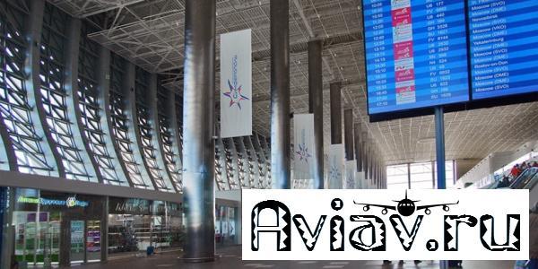 Пассажиропоток аэропорта Симферополь вырос на 7%